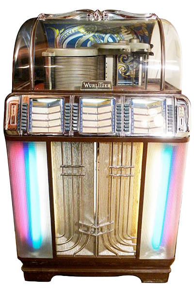 Wurlitzer Model 1400 Juke Box, 1951-1952