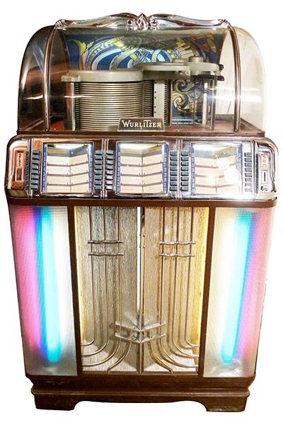 Wurlitzer Model 1400 Juke Box, 1951-1952